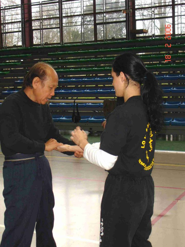 02 Sifu Lo teachs in Paris
